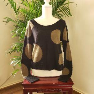Kensie Polka Dot Sweater